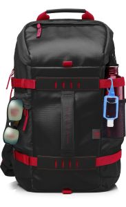 HP 15.6 Odyssey Blk Rd Backpack (X0R83AA)