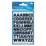 AVERY Letters, Black,  Outdoor Use 9, 5mm/ 38pt,  2 sheets/ pack (3780)