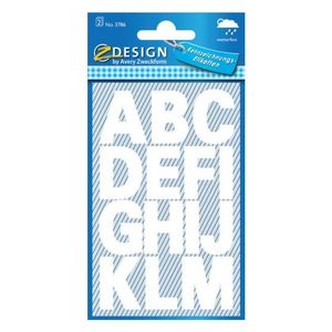 AVERY 3786 letter labels weatherproof A-Z white 25 mm (30) (3786*10)