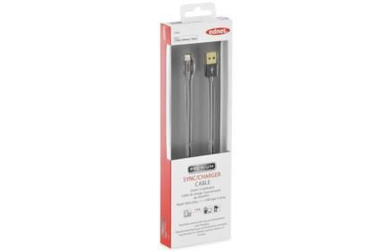 IPHONE LIGHT.SYNC/ CHARGER CABLE GREY CABL