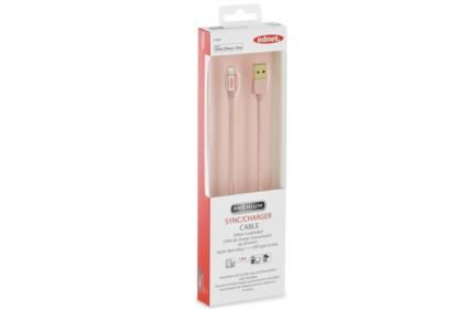 IPHONE LIGHT.SYNC/ CHARGER CABLE ROSE GOLD CABL