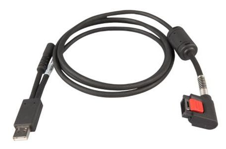ZEBRA WT6000 USB/ CHARGING CABLE. ALLOWS TO COMMUNICATE VIA USB AND CHARGE A WEARABLE TERMINAL, REQUIRES POWER SUPPLY PWRS-14000-249R AND COUNTRY SPECIFIC UN-GROUNDED AC LINE CORD. (CBL-NGWT-USBCHG-01)