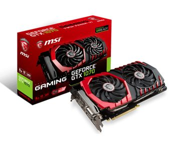 GTX 1070 GAMING 8G DL-DVI-D/ HDMI/ DPx3/ ATX/ TF VI FAN/8G (GTX 1070 GAMING 8G)