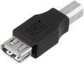 DELTACO ADAPTER USB TYPE A HUN - TYPE B HAN