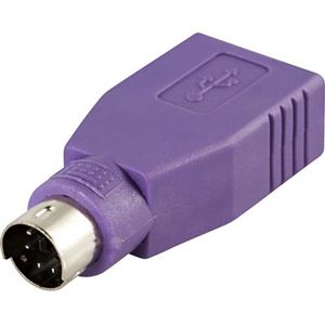DELTACO ADAPTER USB FEMALE TO PS/2 MALE FOR MICE/ KEYBOARD (USB-81)