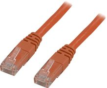 Deltaco UTP Cat.6 patchkabel 0.5m, orange