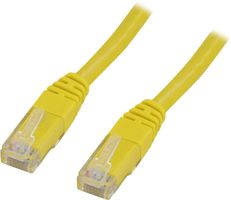 UTP Cat.6 patchkabel 25m, gul
