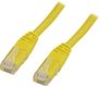 DELTACO UTP Cat.6 patchkabel 25m, gul