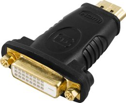 DELTACO HDMI-adapter, HDMI 19-pin hane