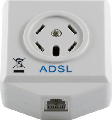 ADSL Splitter för ADSL/ADSL 2+, modem/ router
