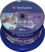 VERBATIM DVD+R Double-Layer  8x 8,5GB V