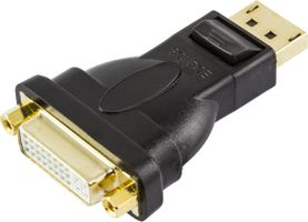 DisplayPort till DVI-D Duallink adapter, ha - ho