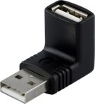 DELTACO Adapter, USB A ha