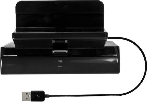 dockningsstation för iPad, USB, 0,5m, svart
