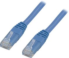 UTP Cat6 patchkabel 1,5m, blå
