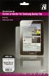 DELTACO transparent skärmskydd,  Samsung Galaxy TAB 10.1 P7500/ P7510