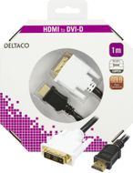 HDMI ha - DVI-D Single Link ha, 1m