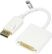 DELTACO DisplayPort - DVI-D Single Link sovittimeen,  20-pin