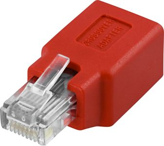 DELTACO MODULAR ADAPTER RJ45 HA - HO CAT5E UTP (68912)