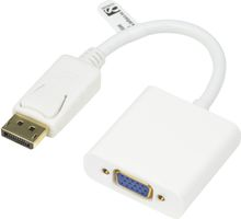 DISPLAYPORT - VGA HA - HO 0.2M WHITE