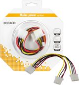 DELTACO Y-kabel intern for 2st 5,25""