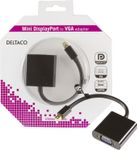 Deltaco mini DisplayPort til VGA
