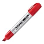 SHARPIE King Size permanent marker, punainen, 12-pack