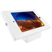 iPad Enclosure Kiosk White