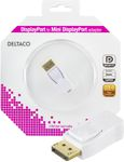 DELTACO DisplayPort ur -  Mini DisplayPort na, valk.