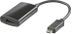 DELTACO MHL-1002 - Video / lyd adapter - MHL / HDMI / USB - 11-pins Mikro-USB (han) - 19-pin HDMI (hun) - 20 c...
