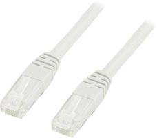 UTP Cat6 patchkabel 0,3m, vit