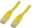 DELTACO UTP Cat6 patch cable 0.3m, yellow
