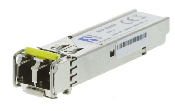 SFP 1000Base-ZX,  LC, 1550nm, 80km, Single-Mode,  DOM