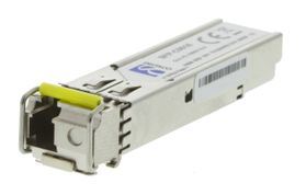 SFP 100BASE-BX10-D,  1550TX/ 1310RX,  20km, Single-Mode