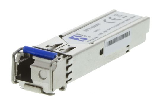 SFP 100BASE-BX10-U,  LC, 1310tx/ 1550rx,  10km, Single-Mode