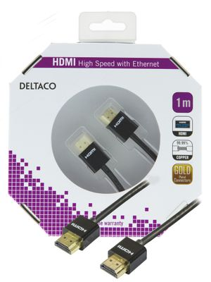 THIN HDMI HA - HA 3.6MM DIAMETER 1M