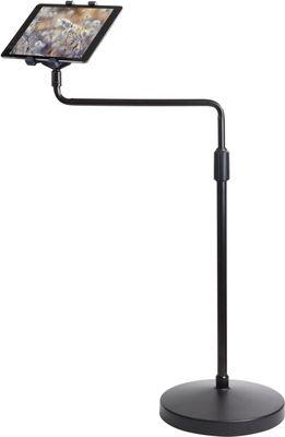 """Universal Tablet Floor Stand, golvstativ för surfplattor,  7""""-10.1"""", sv"""