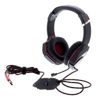A4TECH 7.1 gaming headset USB, 2,2m kabel, svart (G501)