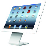 MACLOCKS HoverTab Security Stand, bordstativ til tablets og smartphones,  åben design, 60o vinkel, hvid