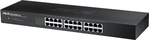 """ASUS 24-Port 19"""" Fast Ethernet Switch (10/100), Layer2 (GX1024X V4)"""