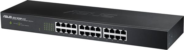 """24-Port 19"""" Fast Ethernet Switch (10/100), Layer2"""