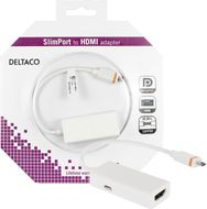 Slimport till HDMI-adapter,  USB Micro B ha, 0,2m, vit