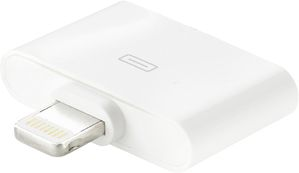 Lightning adapter, Lightning ha till Apple 30-pin ho, vit