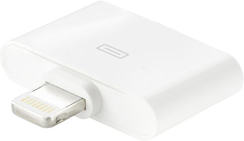 EPZI Lightning adapter, Lightning ha till Apple 30-pin ho, vit (IPLH-126)