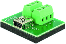 Adapter Mini  USB hona > Terminal Block 6 pin