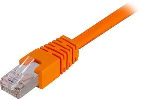 F/UTP Cat6 patchkabel,  0,7m, orange