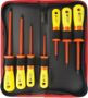 SPROTEK Screwdriver Kit 7 Pcs 1000V Red/Yellow