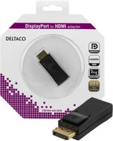 DisplayPort till HDMI adapter, ha-ho, svart