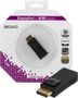 DELTACO DisplayPort till HDMI adapter, ha-ho, svart