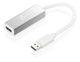 J5 CREATE j5create USB 3.0 to HDMI-Adapter,  slim, 1080P, aluminium,  white